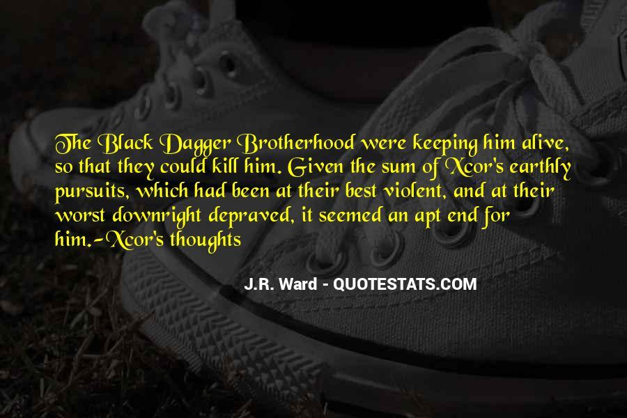 Brotherhood's Quotes #528758