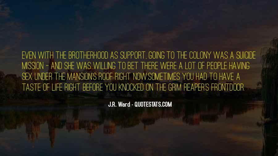 Brotherhood's Quotes #627214