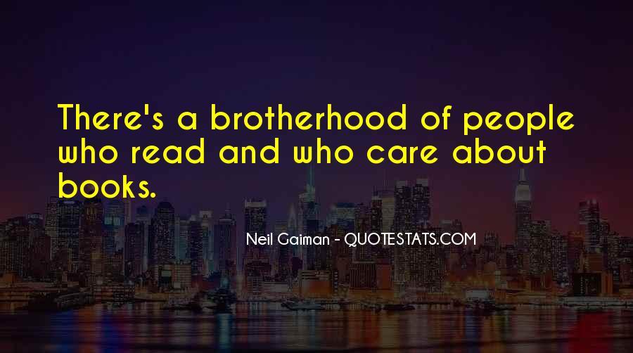 Brotherhood's Quotes #982306