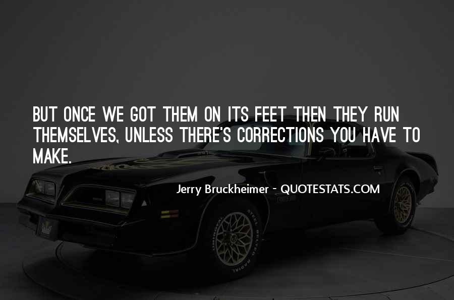 Bruckheimer Quotes #1109370