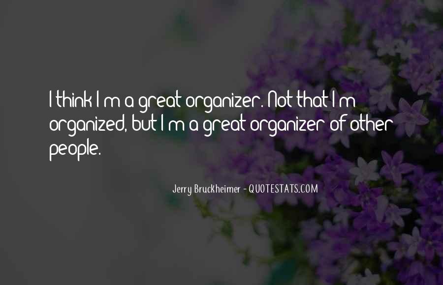 Bruckheimer Quotes #1560696