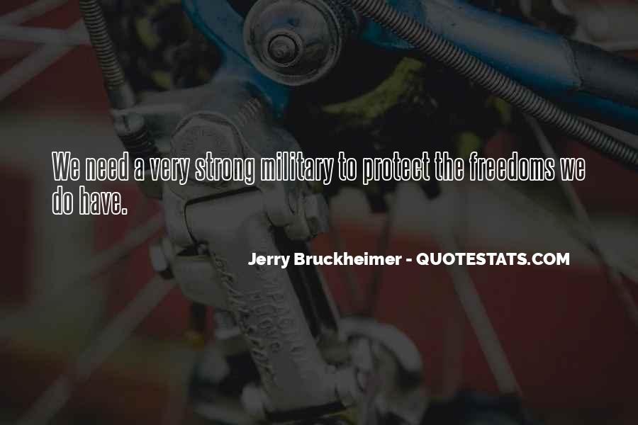 Bruckheimer Quotes #298328