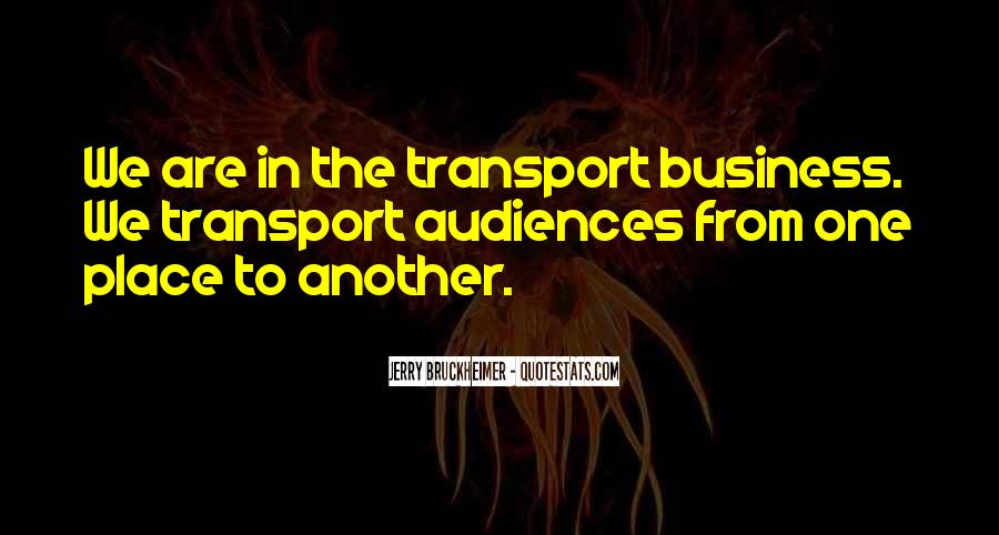 Bruckheimer Quotes #727821