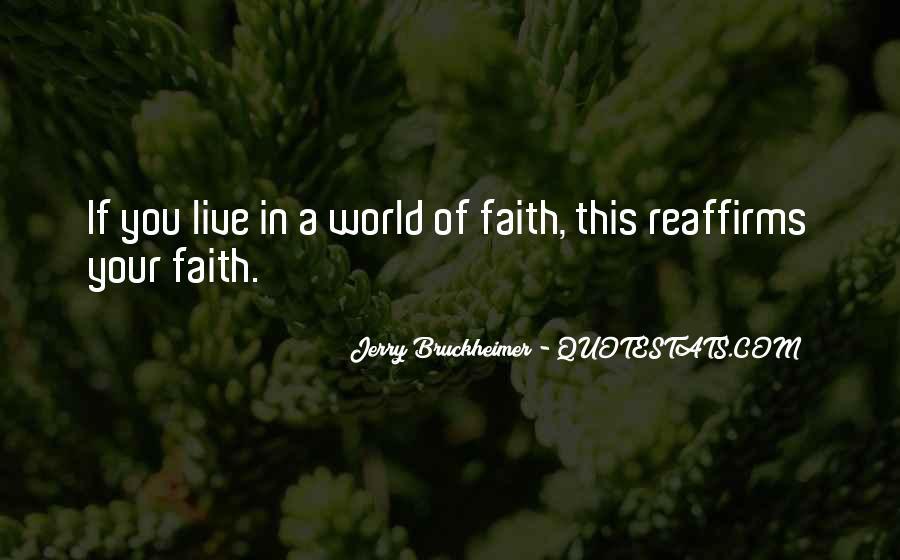 Bruckheimer Quotes #760144