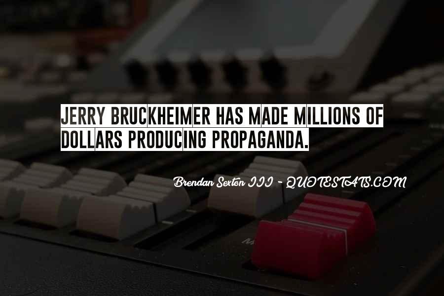 Bruckheimer Quotes #791780