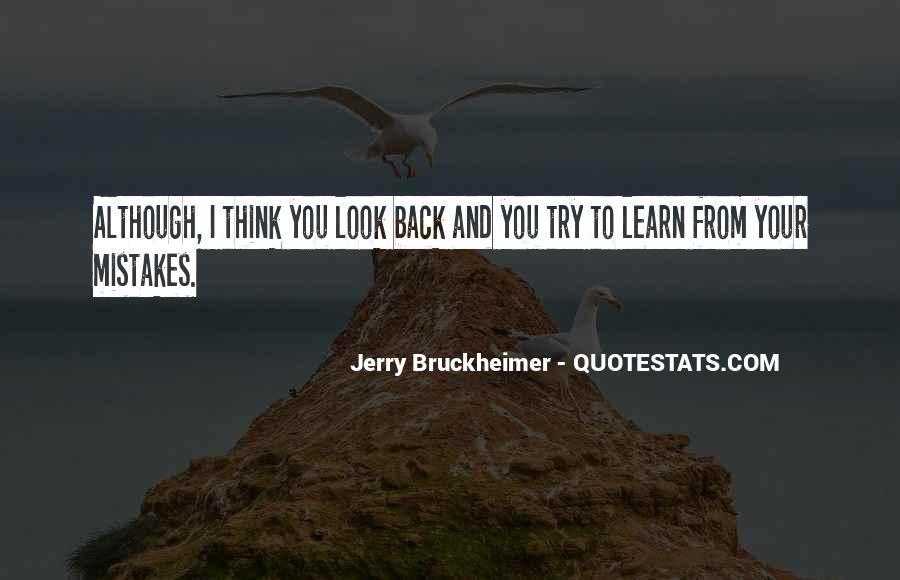Bruckheimer Quotes #792834