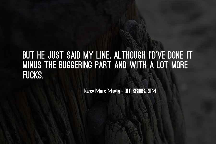 Buggering Quotes #1062363