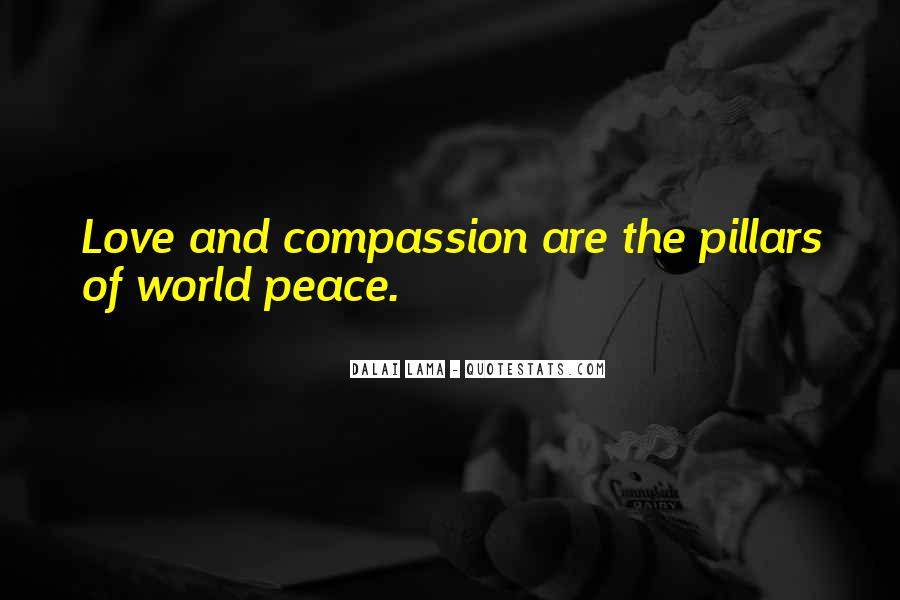 Quotes About Peace And Love #101420