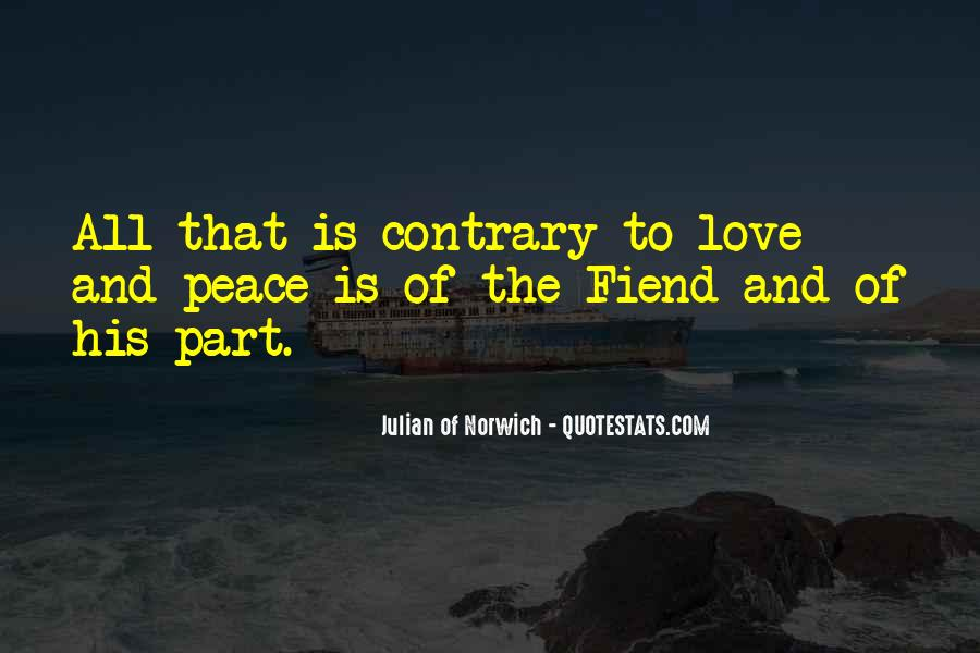 Quotes About Peace And Love #106932