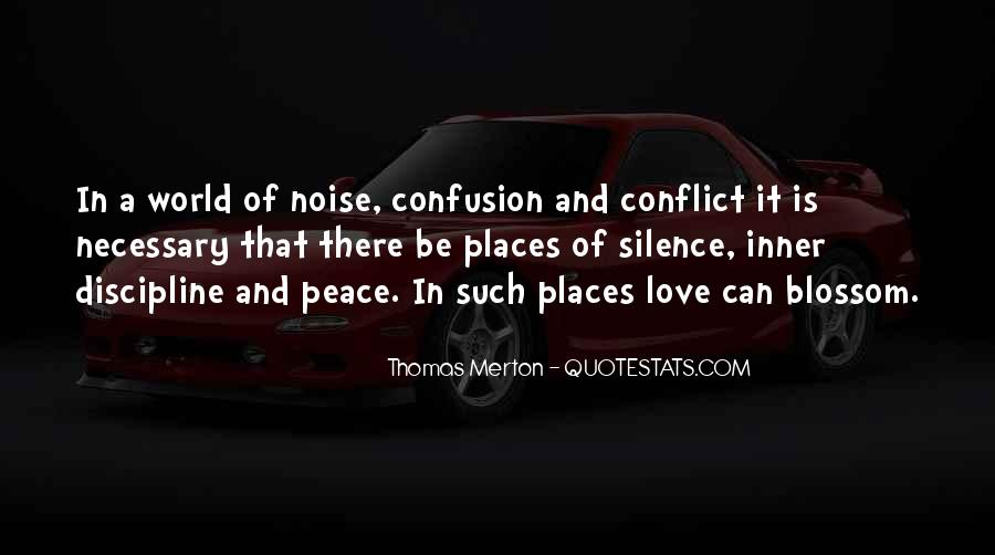 Quotes About Peace And Love #107097
