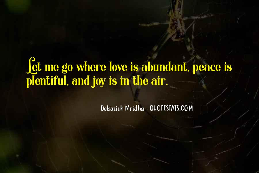 Quotes About Peace And Love #117892