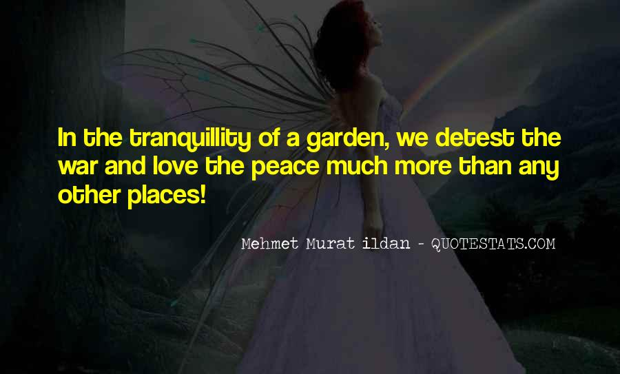 Quotes About Peace And Love #130904