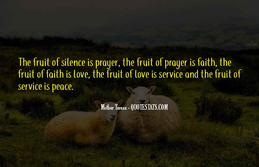 Quotes About Peace And Love #143776