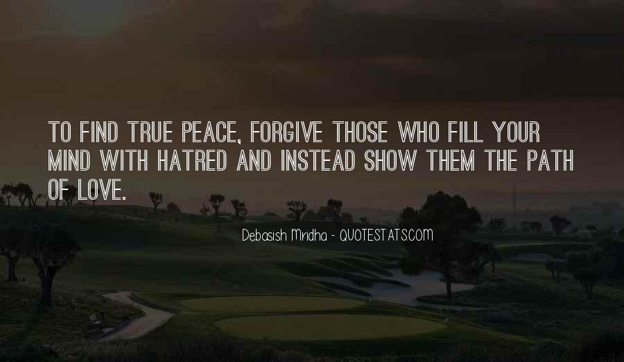 Quotes About Peace And Love #144273