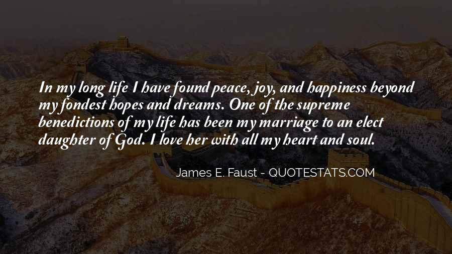 Quotes About Peace And Love #25921