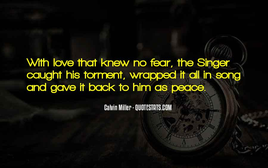 Quotes About Peace And Love #386
