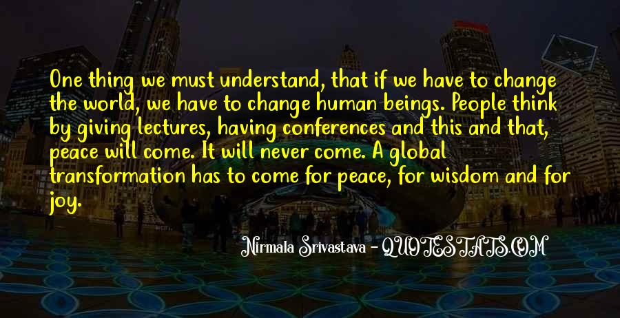 Quotes About Peace And Love #39006