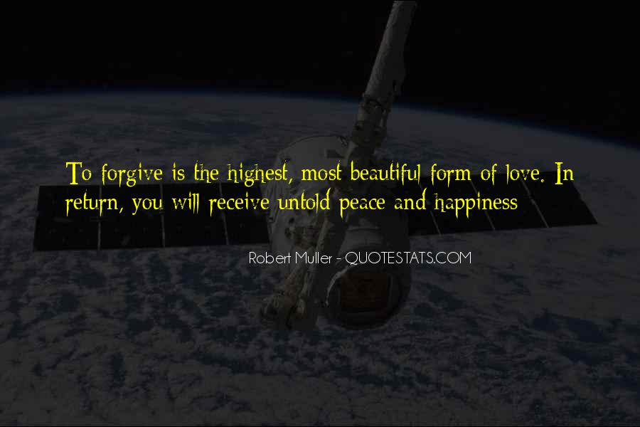 Quotes About Peace And Love #43894