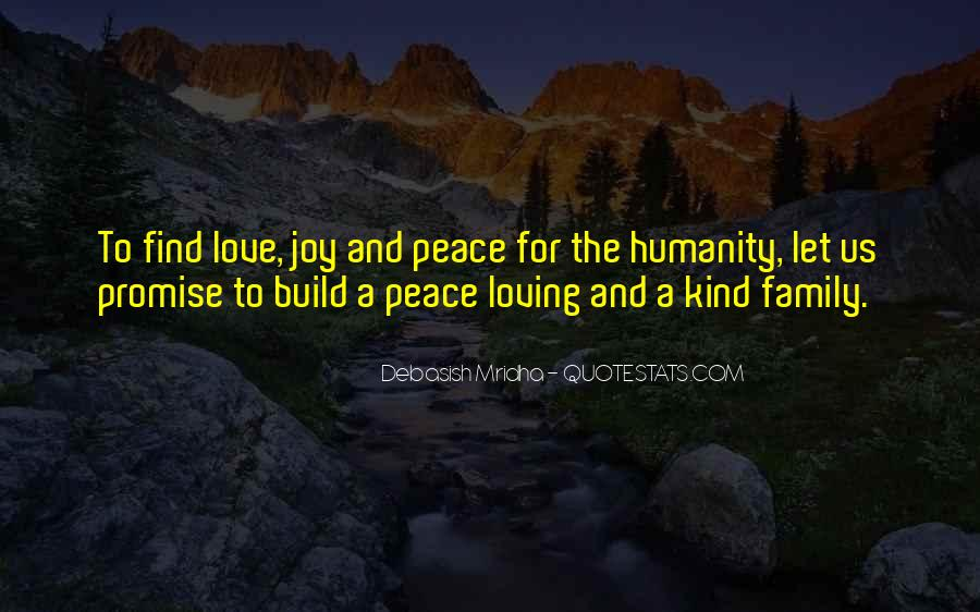 Quotes About Peace And Love #4390