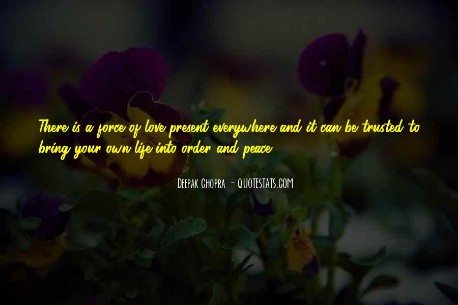 Quotes About Peace And Love #59608