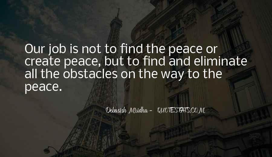 Quotes About Peace And Love #89651