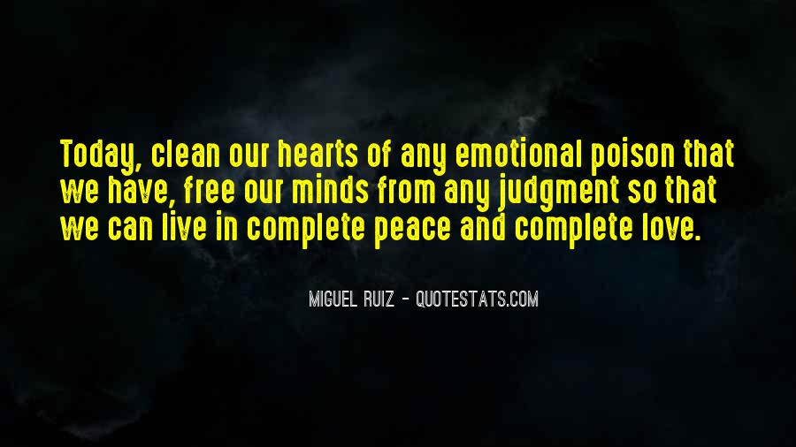 Quotes About Peace And Love #93236