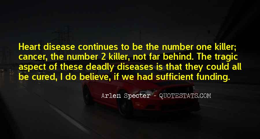 Quotes About Deadly Diseases #1150979