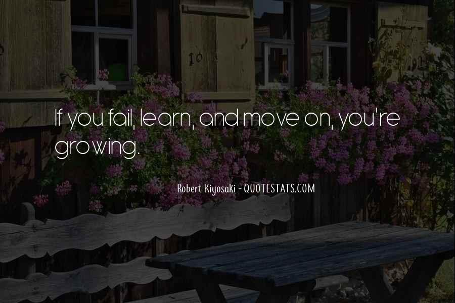 Quotes About Growing Up And Moving Out #130270
