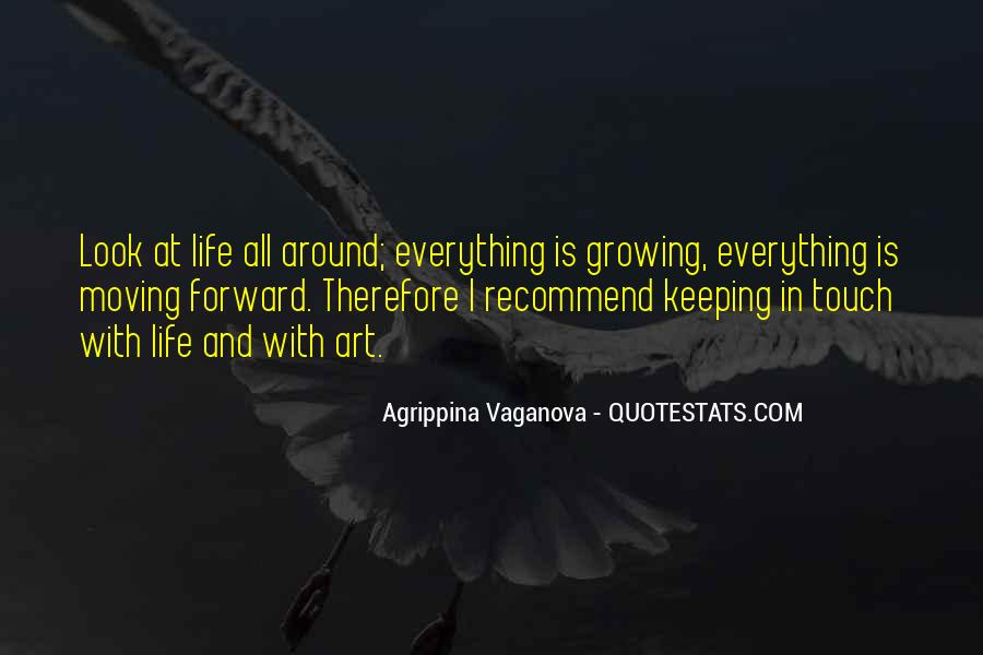 Quotes About Growing Up And Moving Out #222545