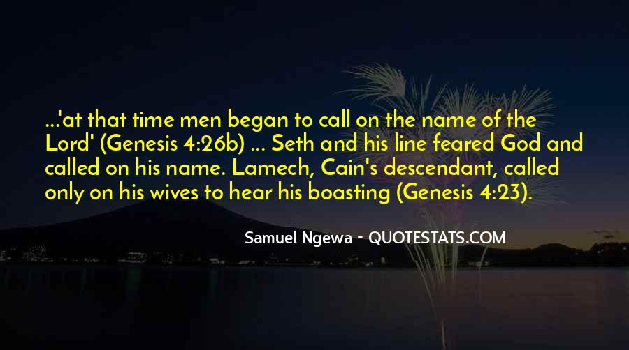 Cain's Quotes #117544