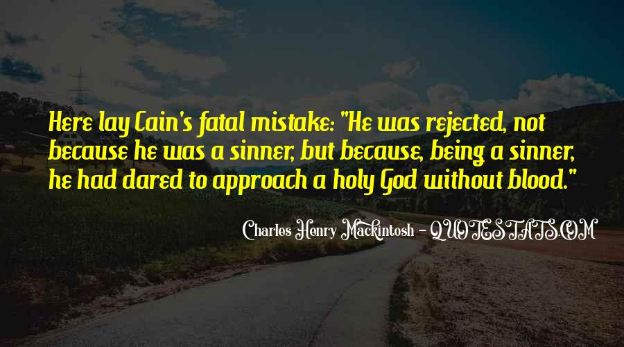 Cain's Quotes #327128