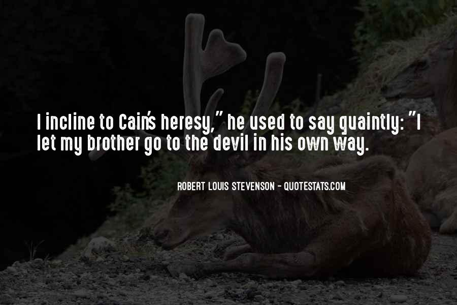 Cain's Quotes #371065