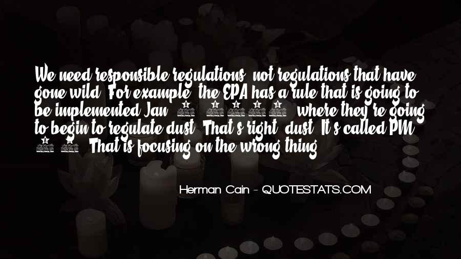 Cain's Quotes #390967