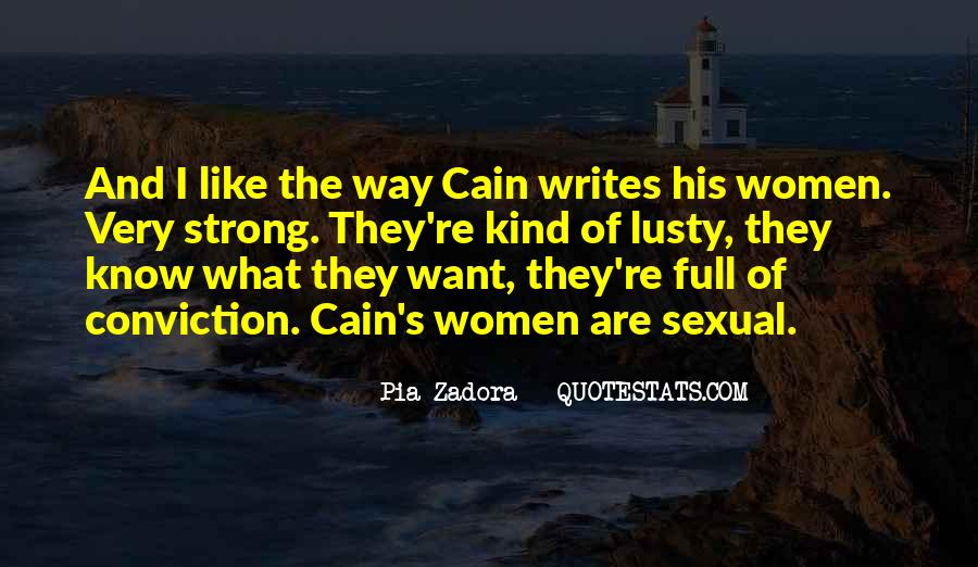 Cain's Quotes #647350