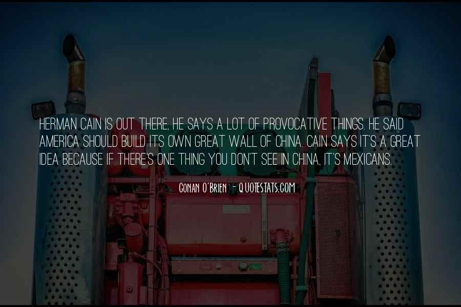 Cain's Quotes #816595