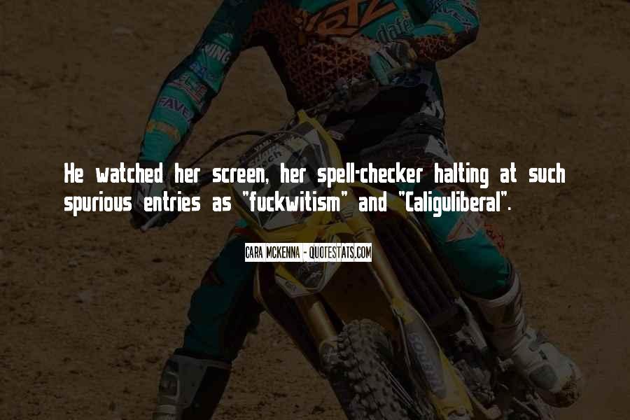 Caliguliberal Quotes #49828