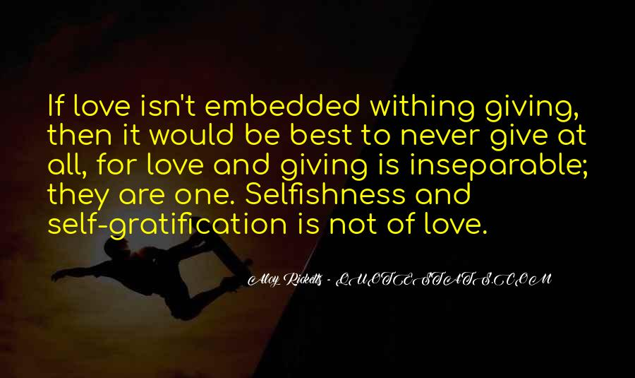 Quotes About Giving It All For Love #1002233