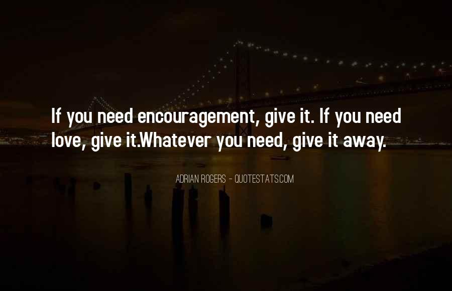 Quotes About Giving It All For Love #18040