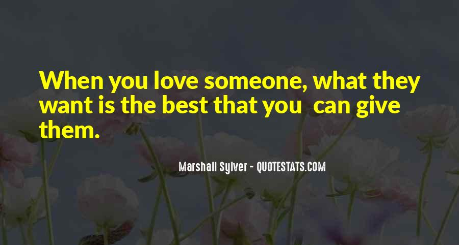 Quotes About Giving It All For Love #25093