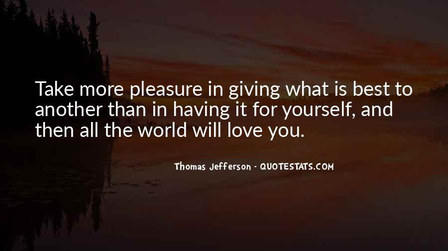 Quotes About Giving It All For Love #411604