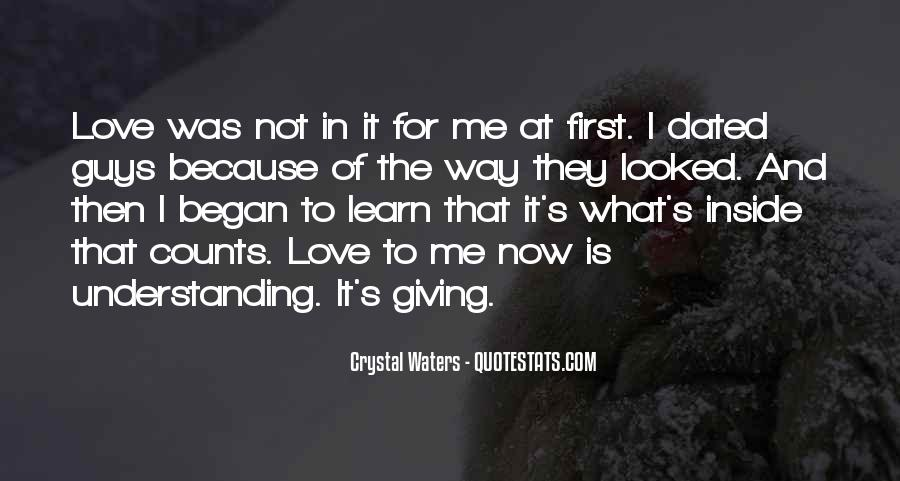 Quotes About Giving It All For Love #5594