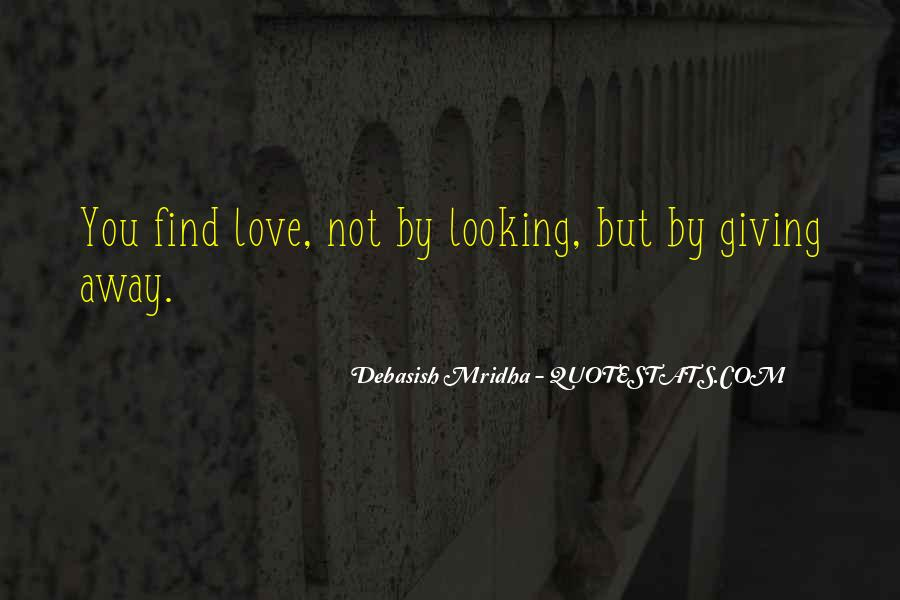 Quotes About Giving It All For Love #57443