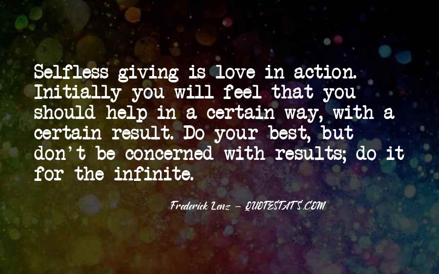 Quotes About Giving It All For Love #65132