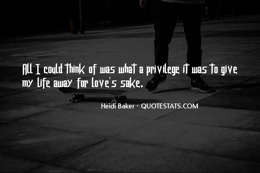 Quotes About Giving It All For Love #667592