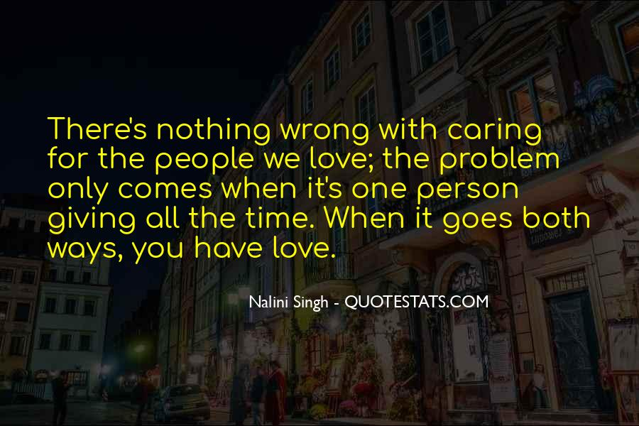Quotes About Giving It All For Love #717905