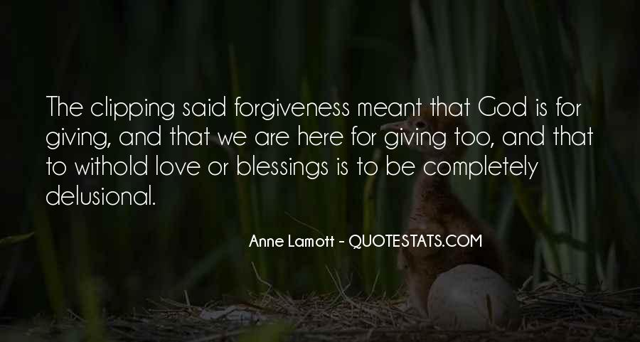 Quotes About Giving It All For Love #9564