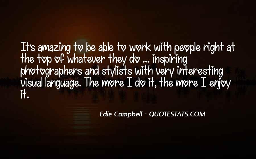 Campbell's Quotes #161682