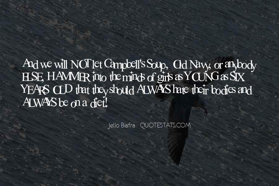Campbell's Quotes #197536