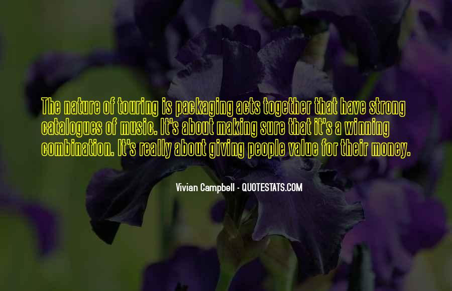 Campbell's Quotes #240201
