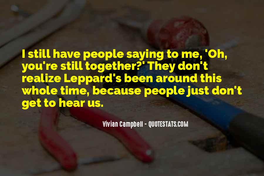 Campbell's Quotes #265273